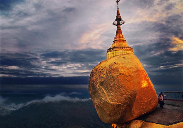 Ο «Χρυσός Βράχος» στη Μιανμάρ