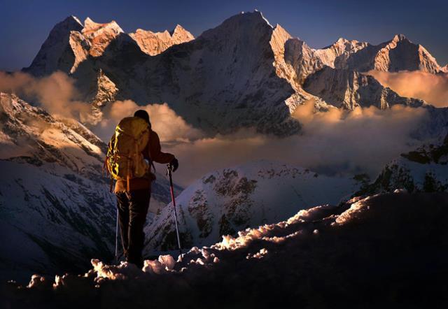 Κορυφές Kangtega, Νεπάλ