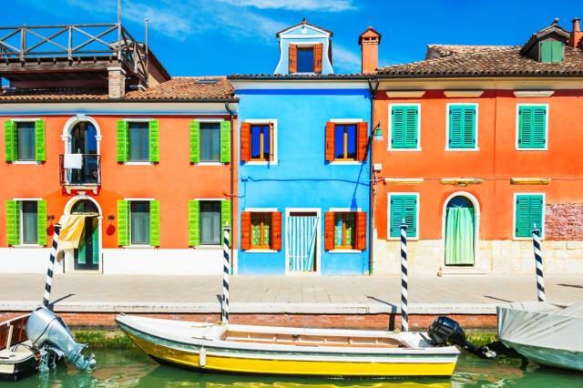 Μπουράνο, Ιταλία