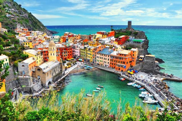 Cinque Terre - πολύχρωμη Ιταλία