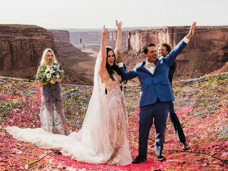 O πιο επικίνδυνος γάμος στον κόσμο έγινε στην Καλιφόρνια! Και να το γιατί! 8a1a705d713