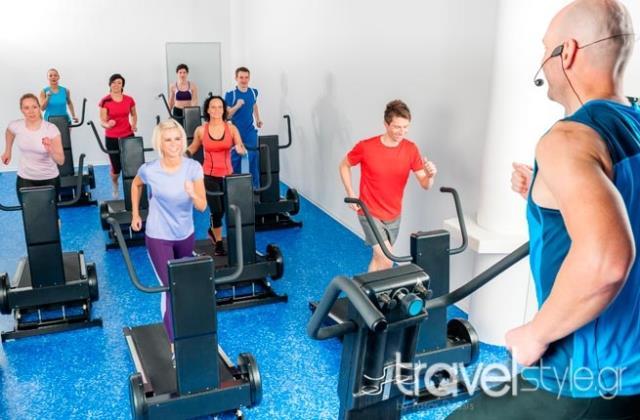 Γυμναστική σε κρουαζιέρα
