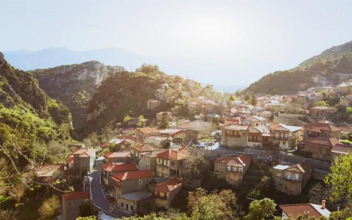 Η πιο κρύα περιοχή της Ελλάδας με εξωπραγματικές θερμοκρασίες στους -35C