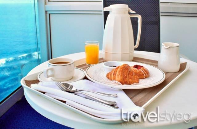 Κρουαζιέρα - πρωινό
