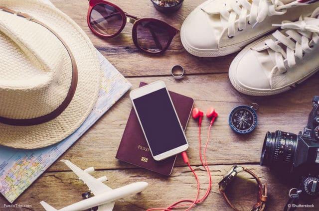 Οργάνωση ταξιδιού - βαλίτσα
