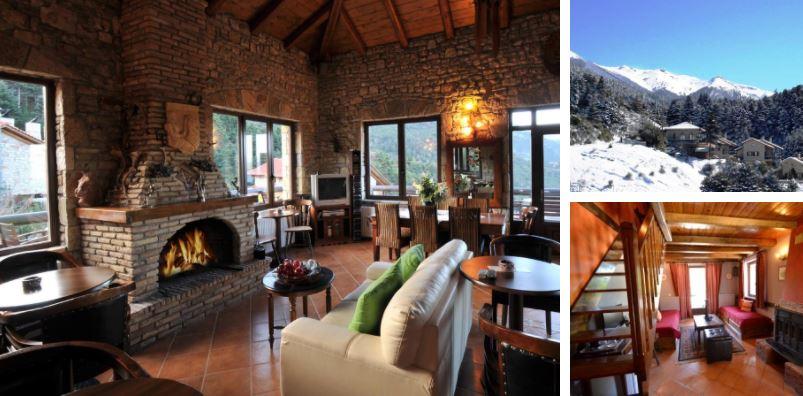 Τα ωραιότερα σαλέ της Ελλάδας σας περιμένουν για τις χειμερινές αποδράσεις σας!