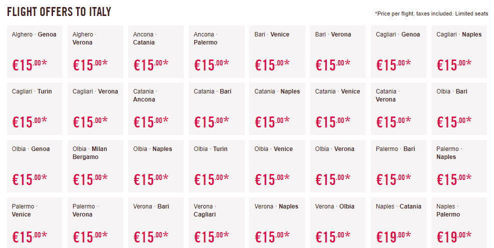 Volotea: Η προσφορά που θα γίνει'καπνός'! Αεροπορικά εισιτήρια που ξεκινούν από 5 ευρώ!