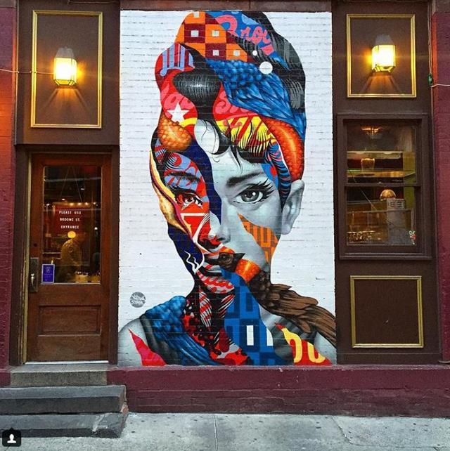 Το αριστούργημα της Όντρεϊ Χέπμπορν, Νέα Υόρκη