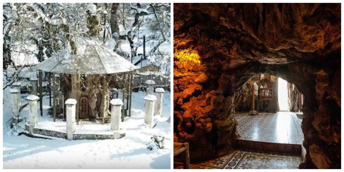 Παναγία Πλατανιώτισσα: Το εκκλησάκι που είναι φτιαγμένο μέσα στην κουφάλα ενός πλατάνου 1000 ετών