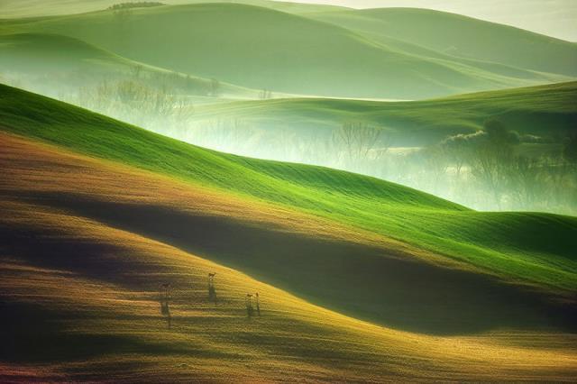 Τοσκάνη - φωτογραφίες από τη φύση της