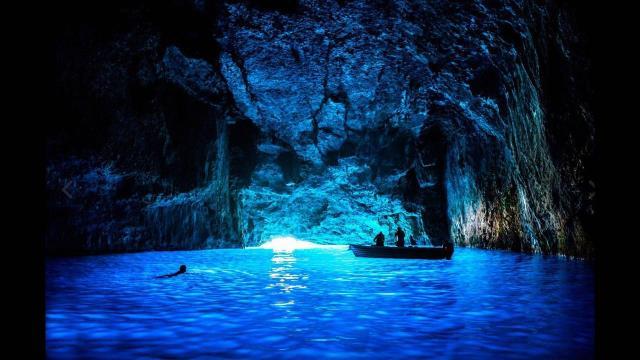 Γαλάζια σπηλιά, Καστελόριζο