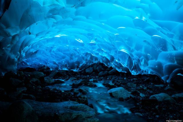 Σπήλαια πάγου Mendenhall, Αλάσκα