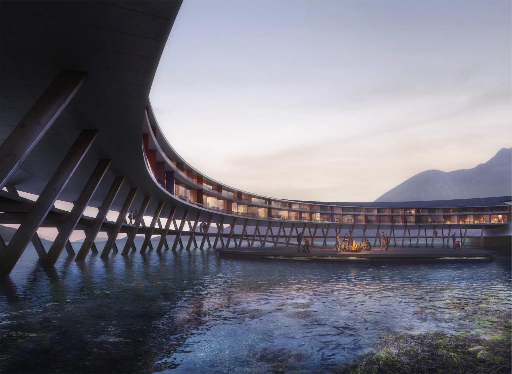 Svart: Κυκλικό ξενοδοχείο ανοίγει στη Νορβηγία με θέα τους παγετώνες και το Βόρειο Σέλας