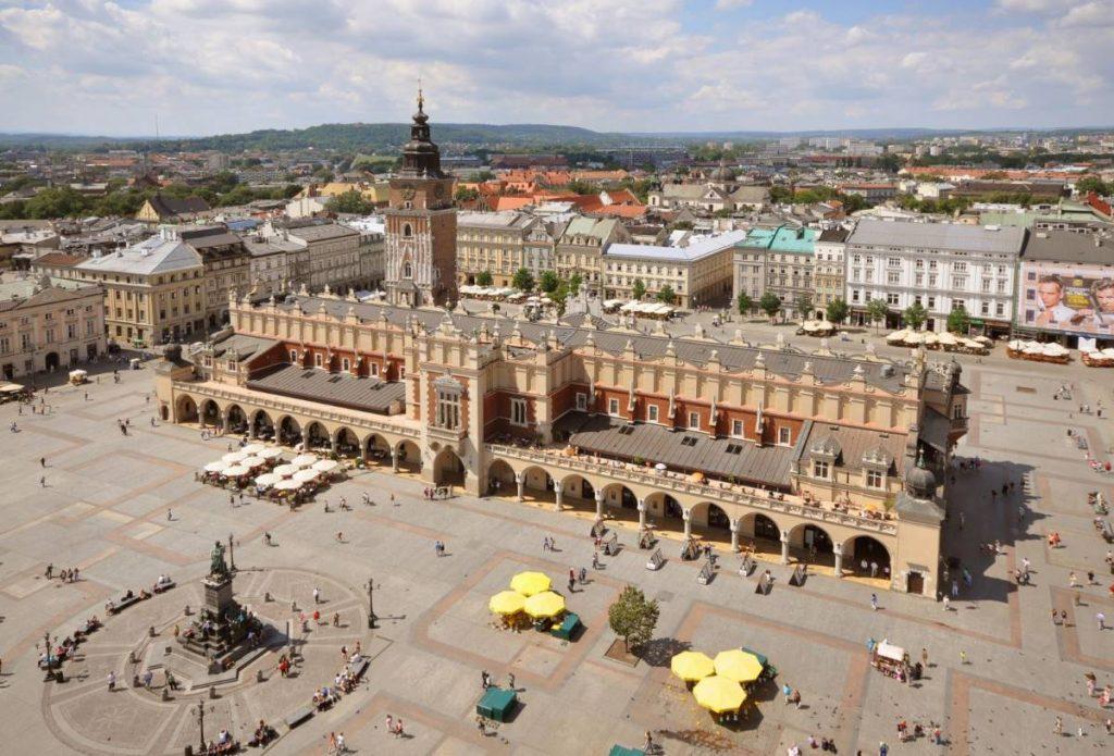 Κεντρική Πλατεία, Κρακοβία