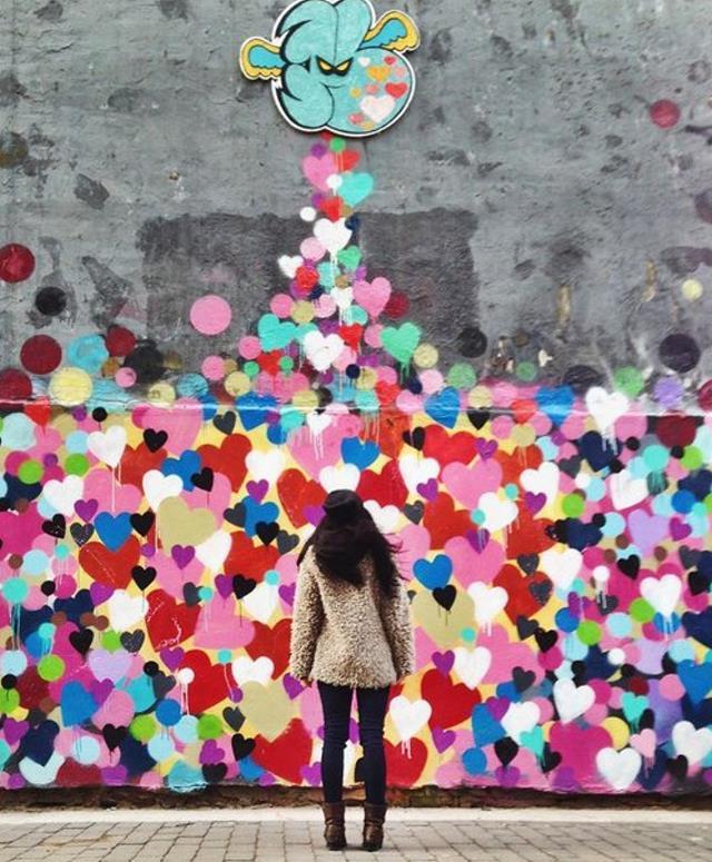 Ο τοίχος του έρωτα, Νέα Υόρκη