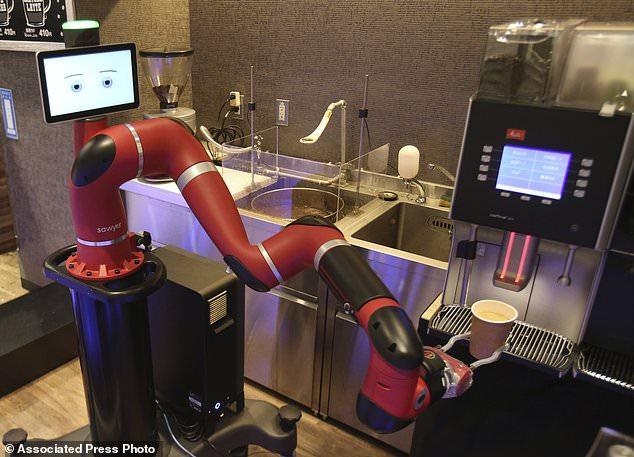 Ιαπωνία: Το ρομπότ-μπαρίστας που σερβίρει καφέ