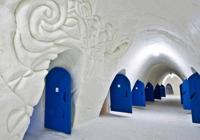 Ξενοδοχεία από πάγο: Βρήκαμε και σας παρουσιάζουμε τα 5 πιο περίεργα!