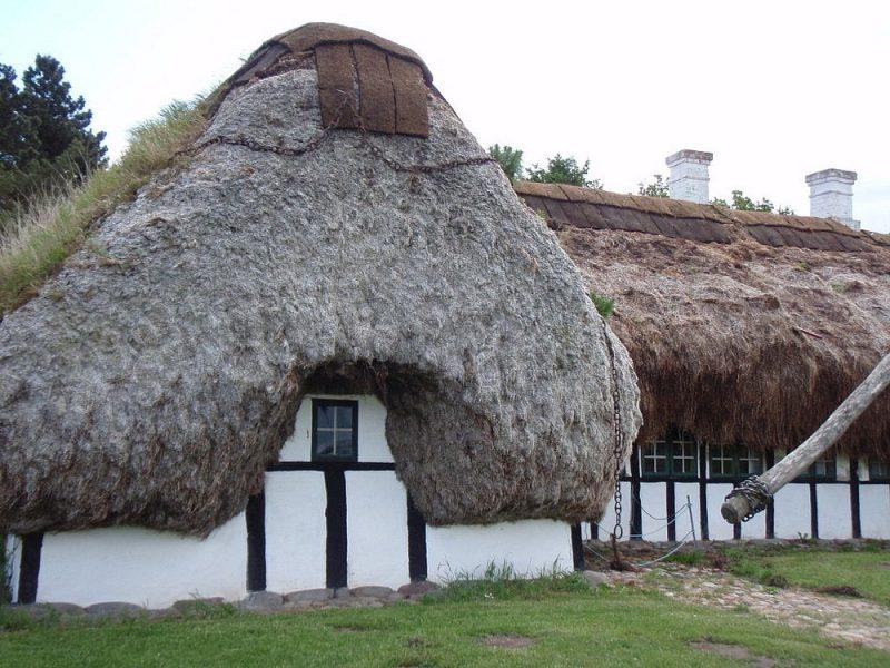 Απίστευτο! Αυτά τα σπίτια στη Δανία έχουν στέγη από φύκια