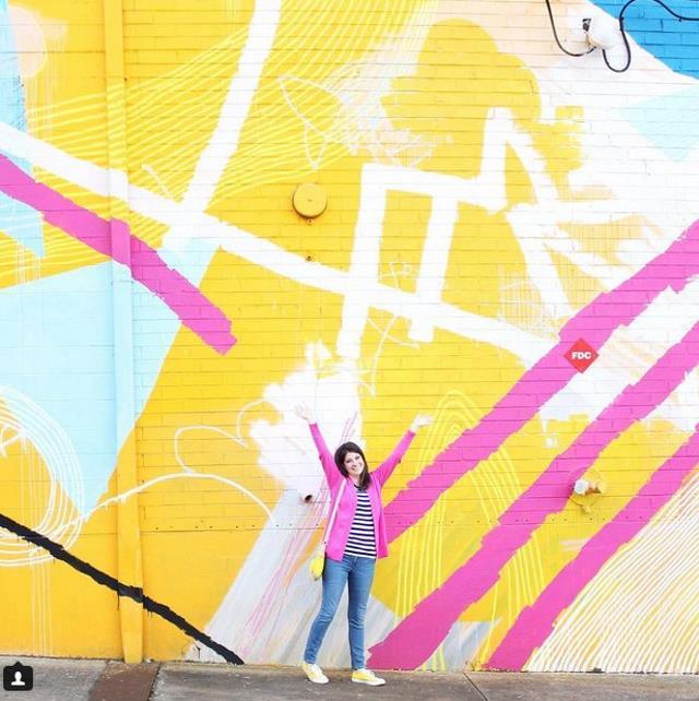 Ο τοίχος που θα σε κάνει να χαμογελάσεις, Ατλάντα