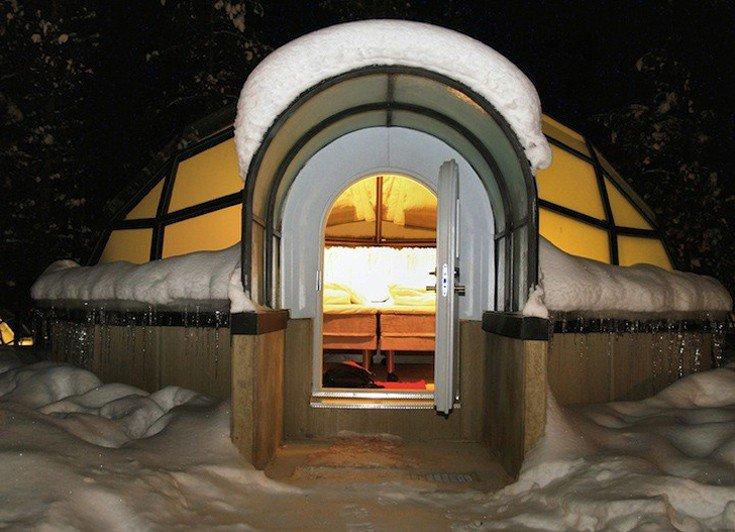 Θέλεις να ζήσεις μία από τις πιο ξεχωριστές εμπειρίες της ζωής σου; Επισκέψου τα γυάλινα ιγκλού με θέα το Βόρειο Σέλας!