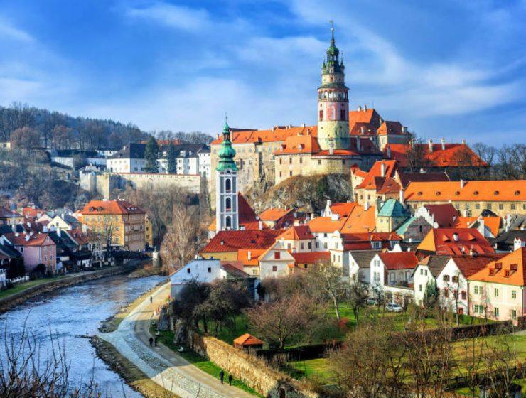 Τσεχία πόλεις