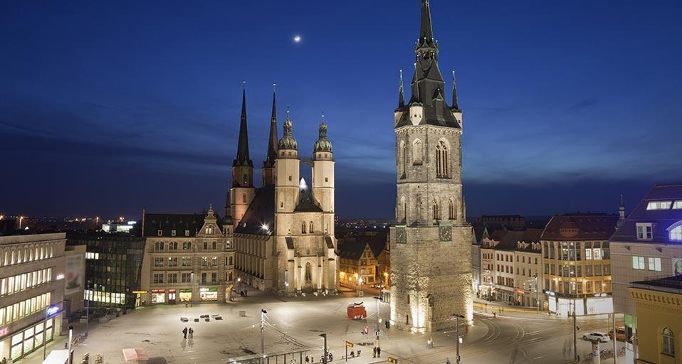 Χάλλε, Γερμανία