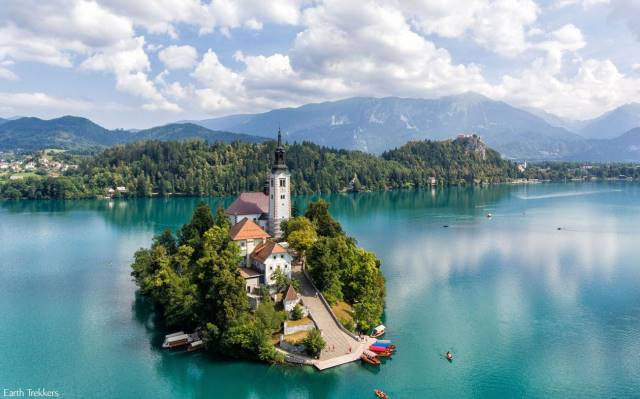 Mπλεντ, Σλοβενία