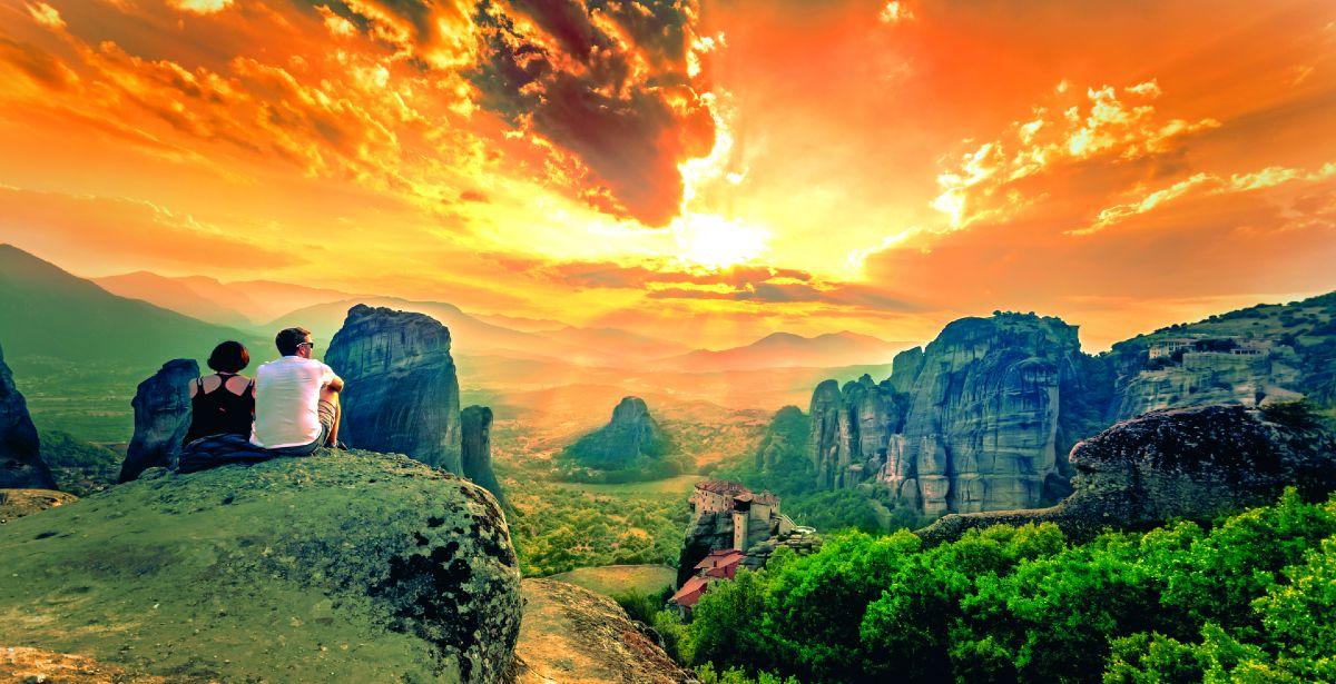 Μετέωρα: Ταξίδι στο μέρος όπου… αγγίζεις τον ουρανό!