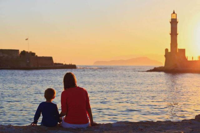 Οικογενειακές διακοπές στην Κρήτη
