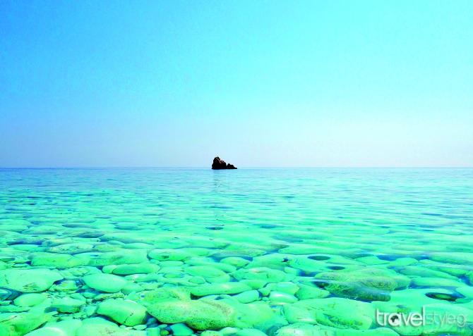 Υπέροχη εικόνα από θάλασσα στη Σϊφνο, Μαρίνα Βερνίκου