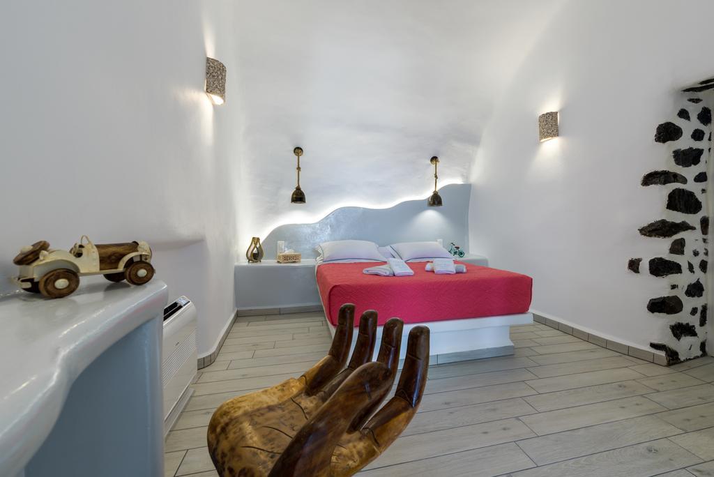 Fira Deep Blue Suites εσωτερικό δωματίου