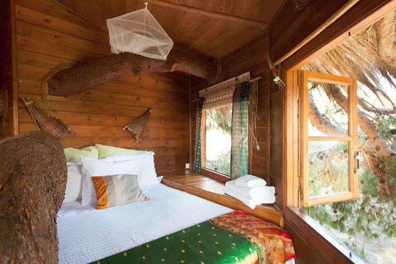 Δεντρόσπιτο είναι καλύτερο από 5άστερο ξενοδοχείο! Δείτε το εσωτερικό του!