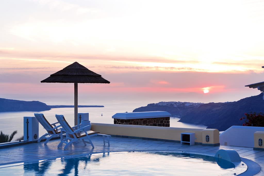 Santorini Princess Spa Hotel ηλιοβασίλεμα