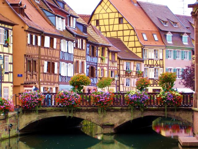 Κολμάρ - πόλεις της Γαλλίας
