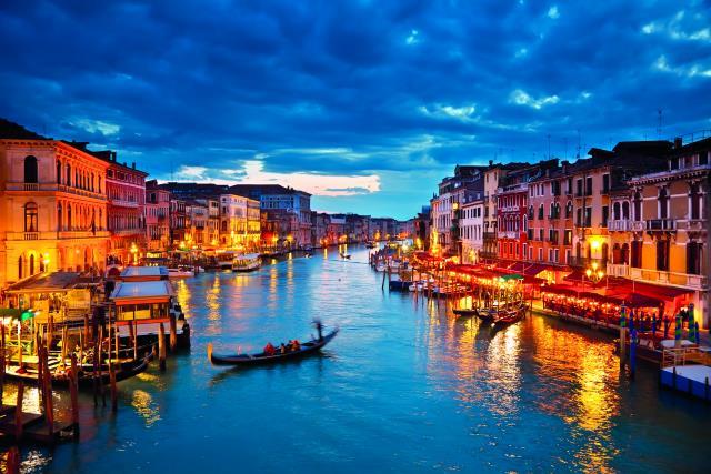 Βενετία, Γαμήλιο Ταξίδι