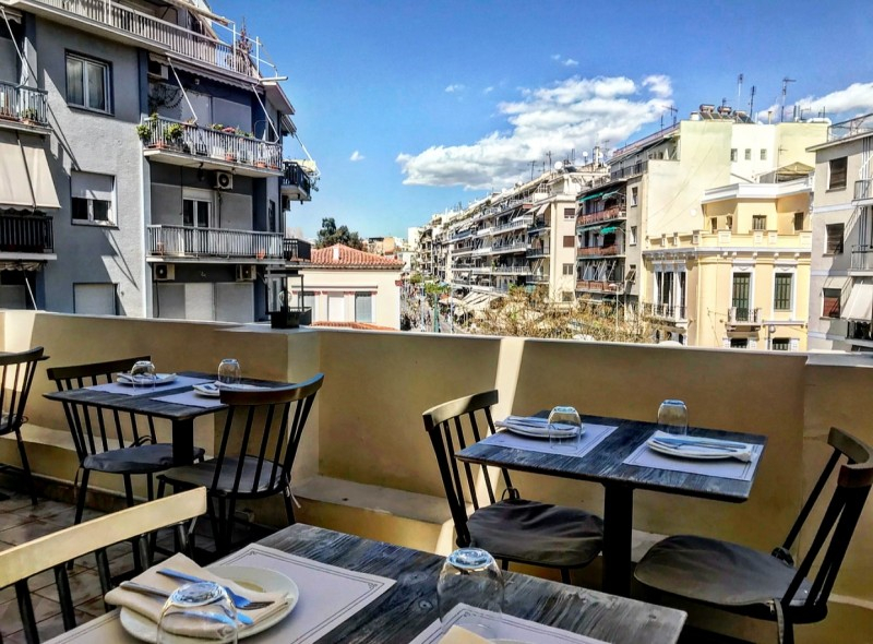 Balcony Restaurant Bar Κουκάκι