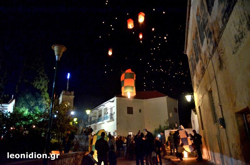 Πασχαλινό Έθιμο Λεωνίδιου: Αερόστατα στον ουρανό
