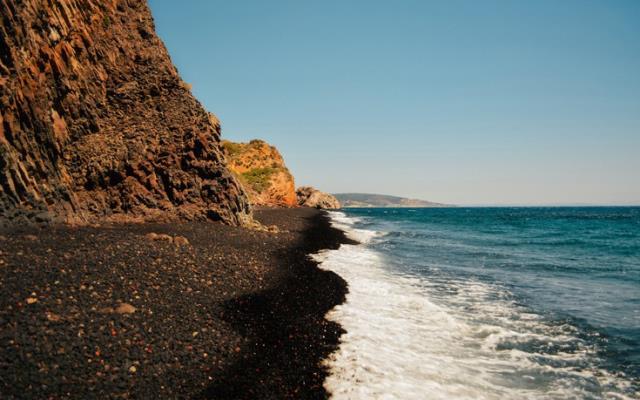 Μαύρα Βόλια, Χίος