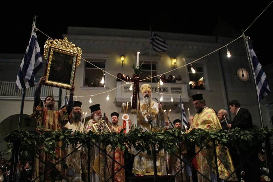 Πασχαλινό Έθιμο της Ζακύνθου: Μεταμεσονύκτιος Επιτάφιος