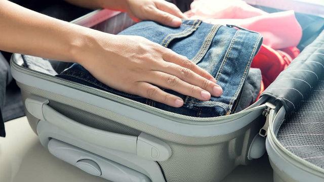 10 tips για οργάνωση βαλίτσας