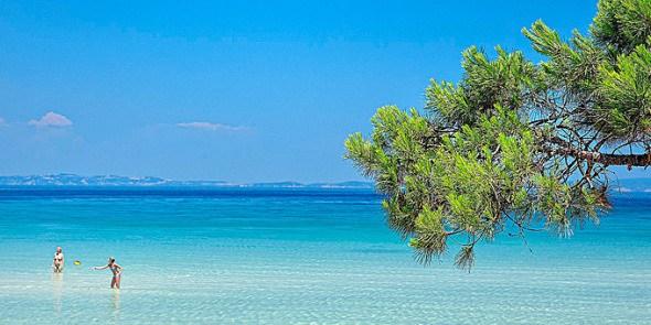 παραλία Βουρβουρού