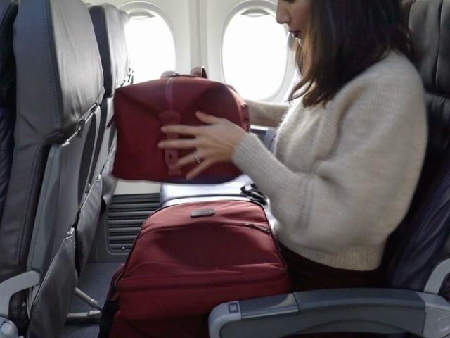 Σακίδιο ταξιδιού αεροπλάνο