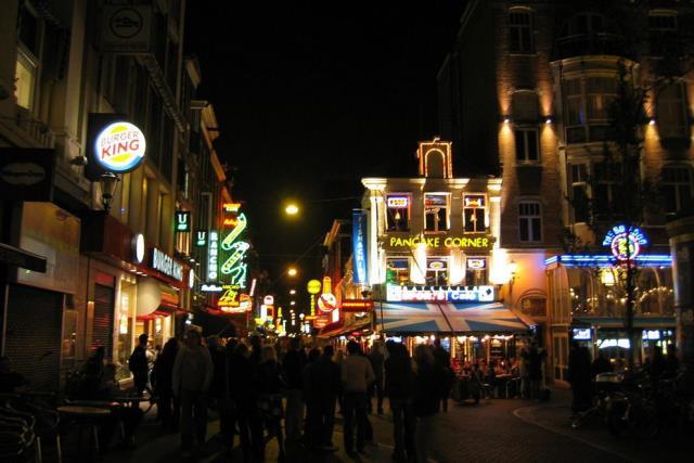 Πλατεία Leidseplein, Άμστερνταμ