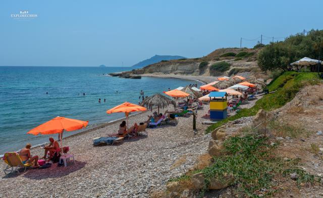 Λιλικάς παραλία Χίος