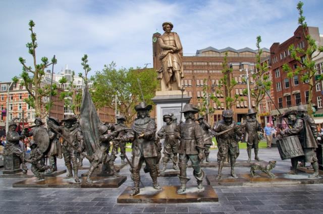 Πλατεία Rembrandtplein, Άμστερνταμ