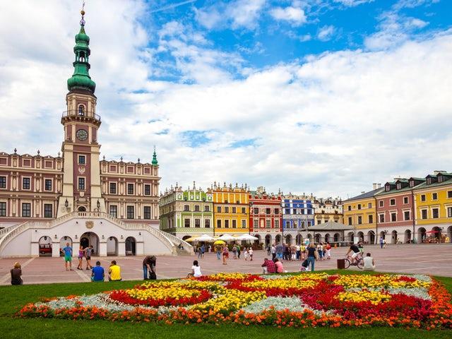 Ζαμόσκ (Zamość), Πολωνία