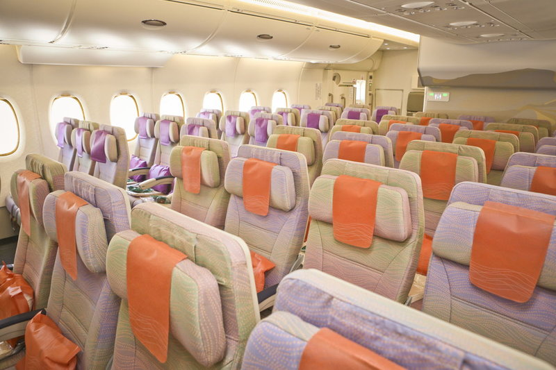 Ξανά στην Αθήνα το αεροσκάφος της Emirates για να πραγματοποιήσει τις πτήσεις Αθήνα-Ντουμπάι!