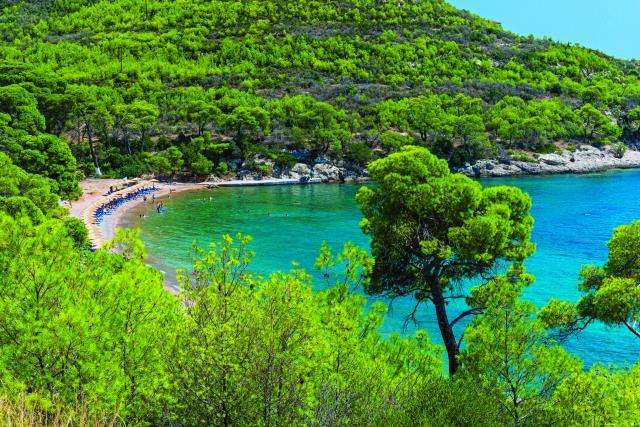 Αγία Παρασκευή - παραλία Σπέτσες