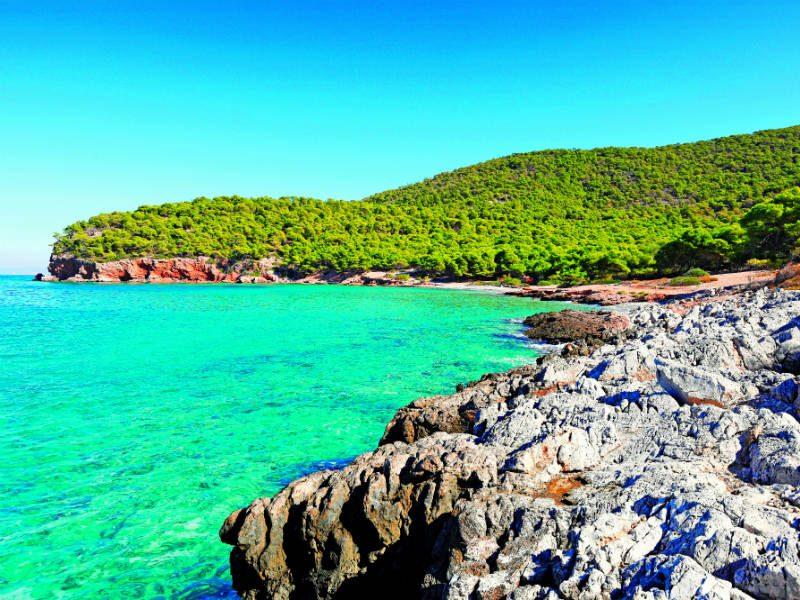 Αγκίστρι παραλίες