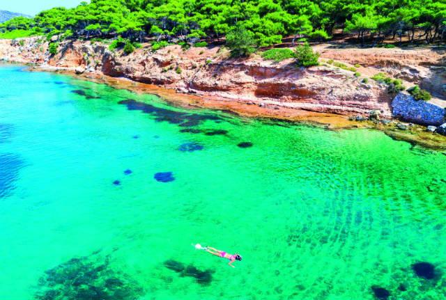 Νησάκι Μονή, Αίγινα